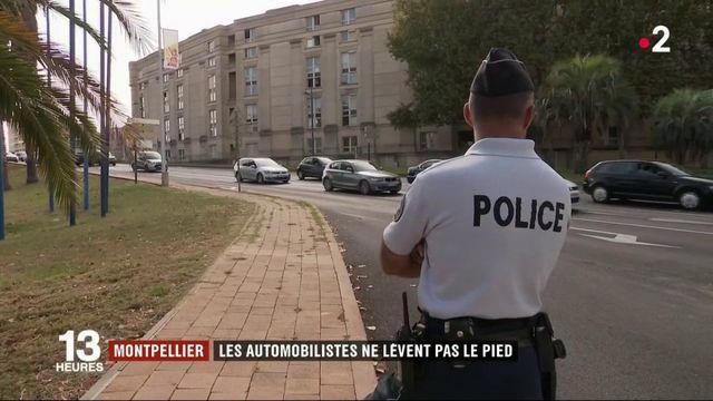 Montpellier : les automobilistes ne lèvent pas le pied