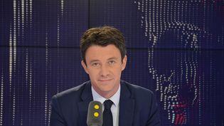 Benjamin Griveaux,secrétaire d'Etat auprès du premier Ministre, porte-parole du gouvernement. (JEAN-CHRISTOPHE BOURDILLAT / RADIO FRANCE)