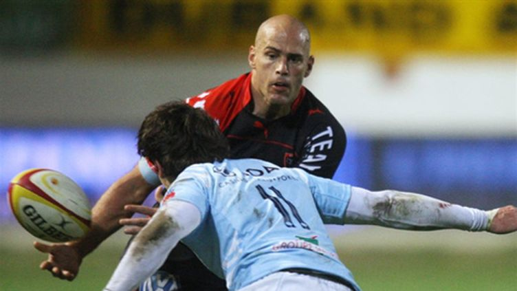 Contepomi (Toulon) face à Battle (Perpignan)