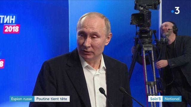 Ex-espion russe empoisonné : réélu, Poutine tient tête à l'UE