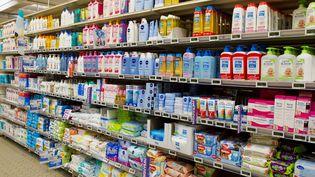 """L'association UFC-Que choisir a relevé des """"substances préoccupante"""" dans 185 produits cosmétiquescourants. (MAXPPP)"""