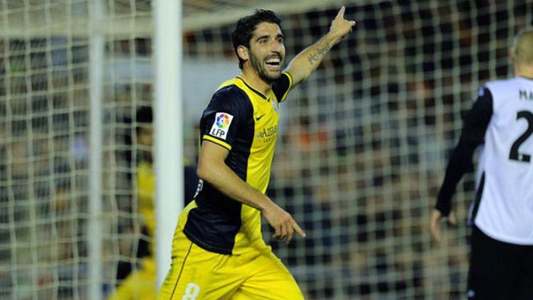 Le joueur de l'Atletico, Raul Garcia