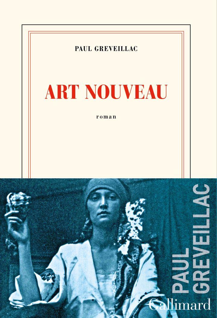 """Couverture de """"Art nouveau"""", de Paul Greveillac (@ éditions Gallimard)"""