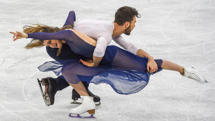 Gabriella Papadakis et Guillaume Cizeron (ULRIK PEDERSEN / NURPHOTO)