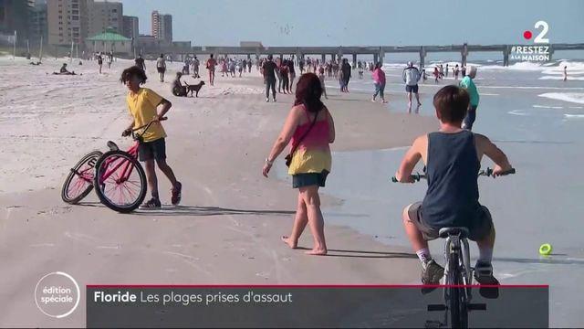 États-Unis : le gouverneur de Floride autorise l'accès à certaines plages