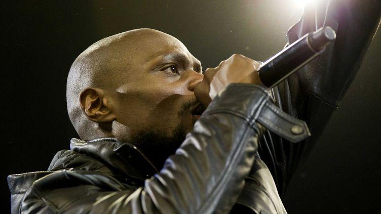 """Kery James en mars 20013 lors du rendez-vous hip hop """"Juste Debout"""" à Bercy  (VINCENT WARTNER/20 MINUTES/SIPA)"""