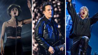 Barbara Pravi, Malik Djoudi et Iron Maiden font partie des artistes de cette rentrée musicale2021. (Kenzo TRIBOUILLARD / AFP - Alain JOCARD / AFP - Claudio Bresciani / TT NEWS AGENCY / TT News Agency via AFP)