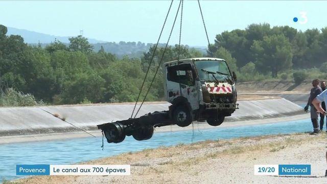 Bouches-du-Rhône : à la pêche aux véhicules volés, puis noyés