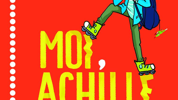 """""""Moi Achille (enfin en 6e !)"""" de Mim et Benoit Bajon,illustré par Zelda Zonk. (MAGNARD JEUNESSE)"""