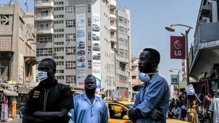 Une vue de Dakar le 26 mars 2020. La capitale du Sénégal vit au ralenti pour cause de confinement. (SADAK SOUICI / ANADOLU AGENCY)