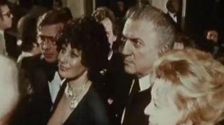 """Federico Fellini vient présenter son 15e film, """"Amarcord""""  (INA)"""