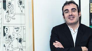 Eric Leroy, expert bande dessinée Artcurial  (Fabien Prioreau / Artcurial)
