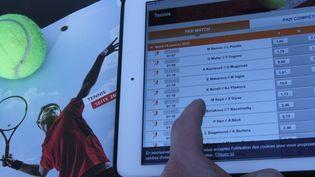 Illustration site de pari sur le tennis. (JEAN-FRANCOIS FREY / MAXPPP)