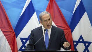 Le Premier ministre israélien, Benyamin Nétanyahou,le 14 juillet 2015 à Jérusalemn (Israël). (REUTERS)