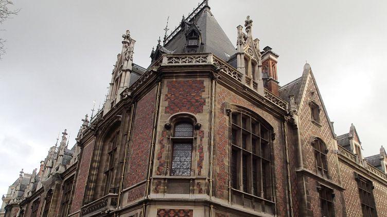 """Dans le 17e arrondissement de Paris, l'Hôtel Gaillard, entièrement rénové, abritera """"Citéco"""", la cité de l'économie et de la monnaie.  (Bruno Levesque/IP3 PRESS/MAXPPP)"""
