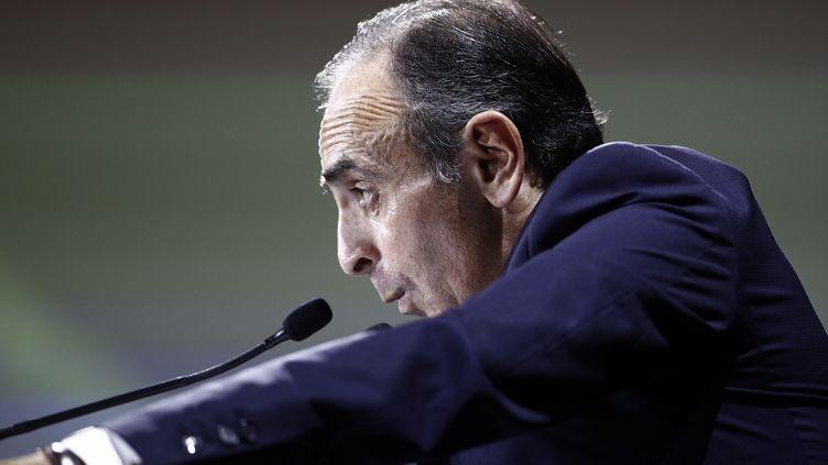 Eric Zemmour, le 28 septembre 2019, à Paris. (SAMEER AL-DOUMY / AFP)