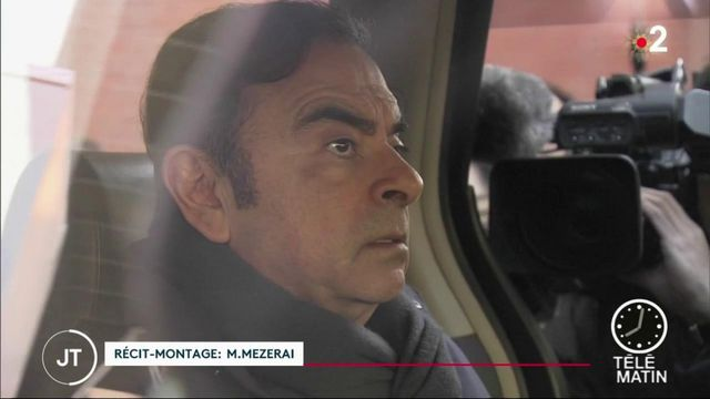 Carlos Ghosn quitte le Japon et trouve refuge au Liban