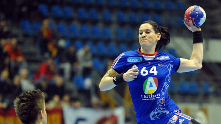 Alexandra Lacrabère (ANDREJ ISAKOVIC / AFP)