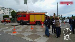 Les lieux à Lorient où un chauffard a tué au moins un enfant (France 2)