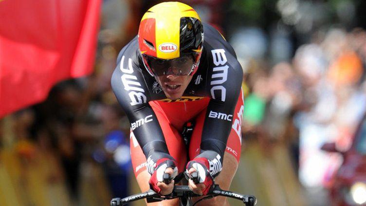 Philippe Gilbert sur le prologue du Tour 2012 (PASCAL PAVANI / AFP)