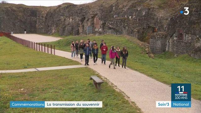 Commémorations de la Première Guerre mondiale : la transmission du souvenir