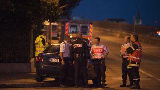 Une prise d'otage a viré au drame, le 6 août 2012 à Dijon : le forcené et une de ses otages ont été retrouvés morts. (PHILIPPE BRUCHOT / MAXPPP)
