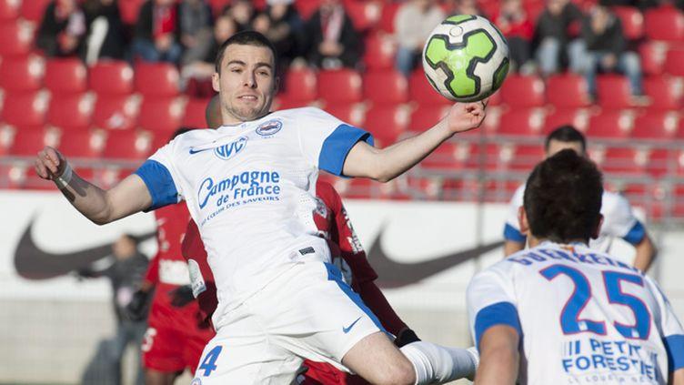 Benjamin Corgnet, à l'image de son équipe, à vécu un match difficile contre Rennes