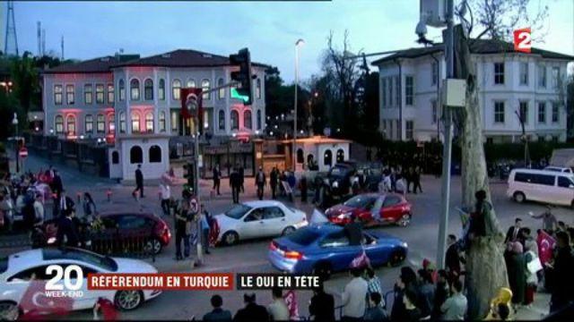 Référendum en Turquie : le oui en tête