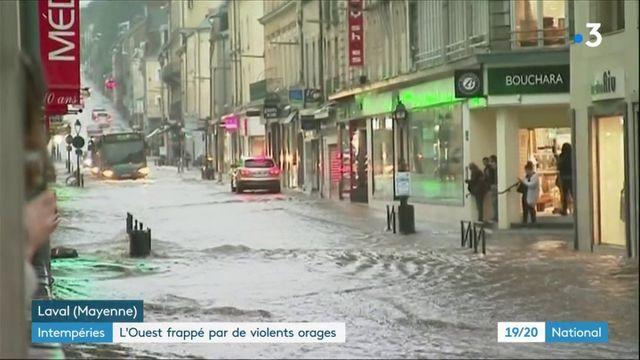 Intempéries : l'Ouest déjà frappé par de violents orages