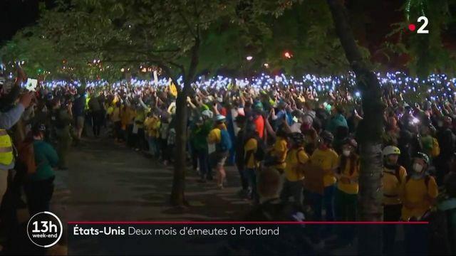 Antiracisme : aux États-Unis, Portland s'enflamme
