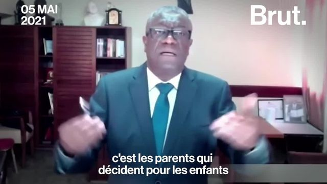 Face à l'augmentation des viols, Denis Mukwege, gynécologue et prix Nobel de la paix, plaide pour une masculinité positive.