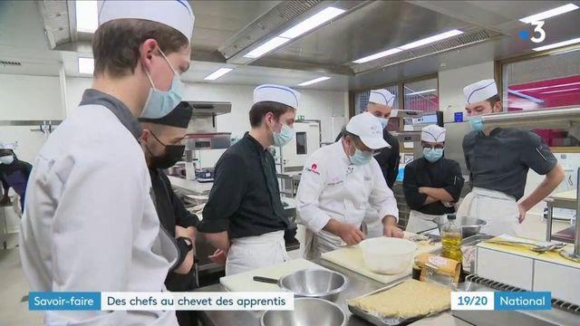 Hôtellerie-Restauration : des chefs étoilés au chevet des apprentis