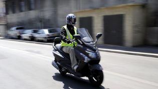 Un conducteur de moto (photo d'illustration) (SOLLIER CYRIL / MAXPPP)