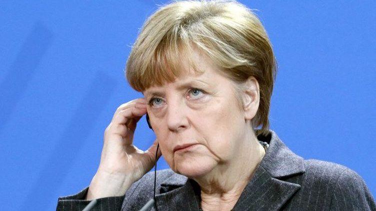 Angela Merkel, isolée sur l'austérité en Europe ? (Mehmet Kaman / ANADOLU AGENCY)