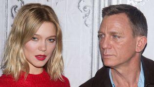 Léa Seydoux et Daniel Craig à New-York, le 5/11/2015  (Charles Sykes/AP/SIPA)