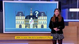 Renoncement de Benjamin Griveaux : un siège de candidat à la mairie de Paris vacant chez LREM (FRANCEINFO)