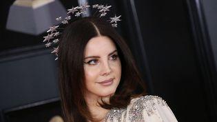 Lana Del Rey aux Grammys en janvier 2018.  (Matt Baron/Shutterstock/SIPA)