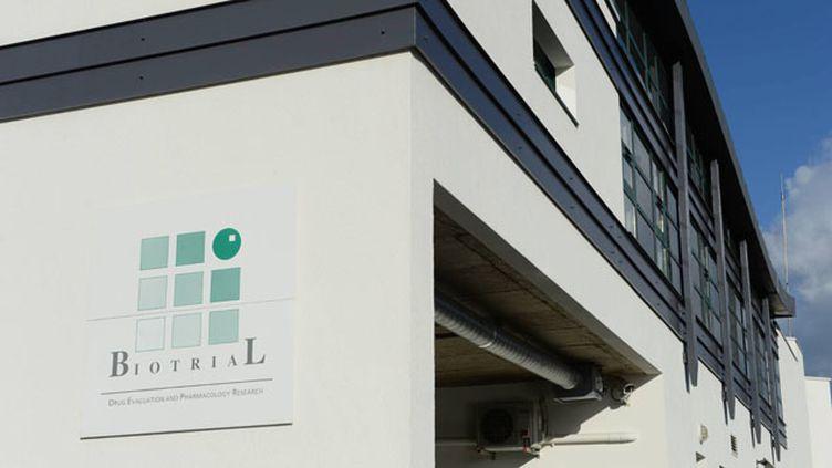 (Le médicament testé par Biotrial est développé par l'entreprise pharmaceutique portugaise Bial © Maxppp)