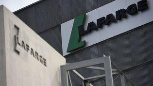 Unsitedu groupe Lafarge, le 7 avril 2014 à Paris. (FRANCK FIFE / AFP)