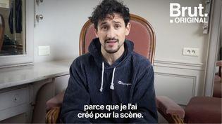 VIDEO. Mehdi Kerkouche présente son premier ballet à l'Opéra national de Paris via les réseaux sociaux (BRUT)