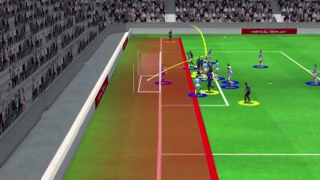 VIDEO. PSG-Manchester City (1-2) : le but de Marquinhos analysé en 3D par notre consultant Éric Roy.
