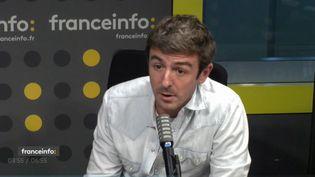Anthony Meunier est le producteur de Mask Singer sur TF1. (CAPTURE ECRAN / FRANCEINFO)