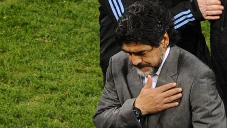 La cruelle déception de Diego Maradona