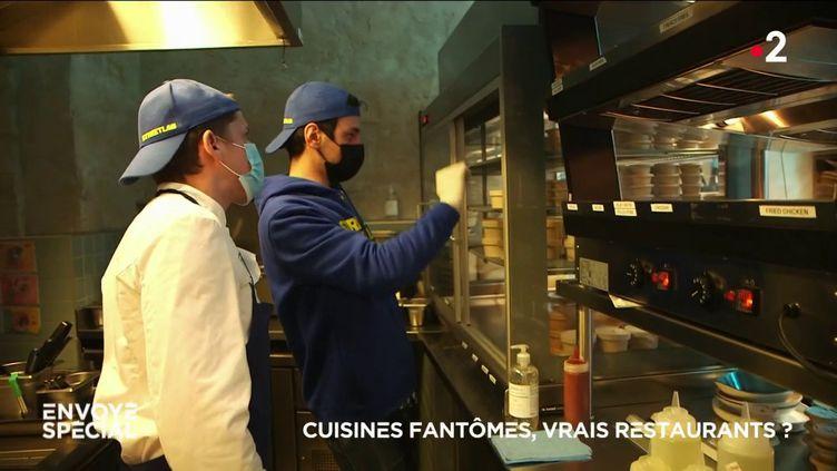 Envoyé spécial. Cuisines fantômes, vrais restaurants ? (ENVOYÉ SPÉCIAL  / FRANCE 2)