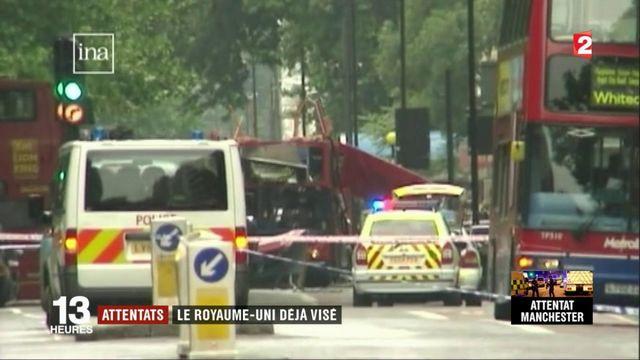 Terrorisme : le Royaume-Uni déjà visé