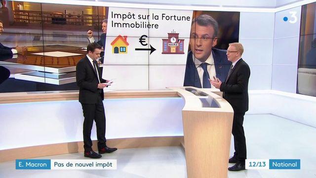 Impôts : la promesse d'Emmanuel Macron