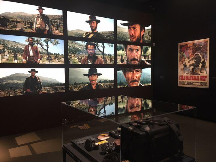 """L'exposition """"Il était une fois Sergio Leone"""" à la Cinémathèque (Octobre 2018 - Janvier 2019)  (Jacky Bornet / Culturebox)"""