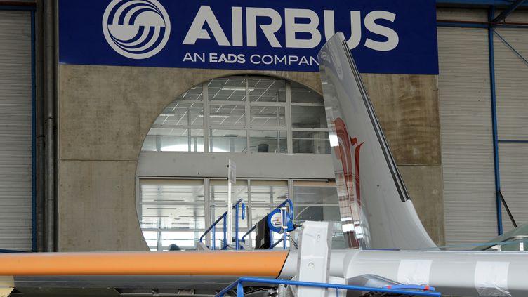L'usine Airbus à Blagnac, au sud de Toulouse, en avril 2011. (PASCAL PAVANI / AFP)