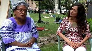 A Sète, le dialogue de deux femmes de Nouvelle-Calédonie, Déwé Gorodé et Imasango  (France Télévisions)