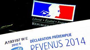 Une déclaration de revenus 2014 pré-remplie. (GILE MICHEL / SIPA)